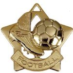 Football Star Medal 60mm AM715